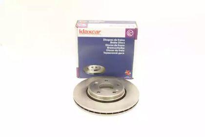 Вентилируемый тормозной диск 'KLAXCAR FRANCE 25862z'.
