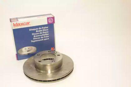 Вентилируемый тормозной диск 'KLAXCAR FRANCE 25864z'.