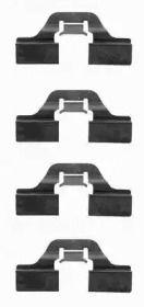 Скобы тормозных колодок на SEAT LEON TEXTAR 82037300.