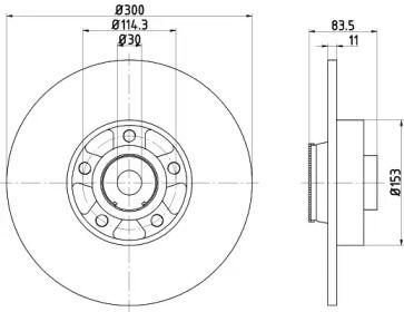 Тормозной диск на RENAULT TALISMAN 'TEXTAR 92233103'.