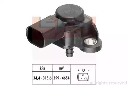 Датчик тиску наддуву на Мерседес W211 EPS 1.993.165.