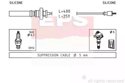 Високовольтні дроти запалювання на MITSUBISHI CARISMA EPS 1.501.883.