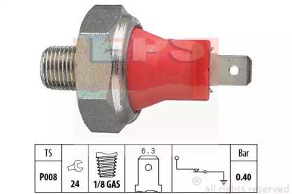 Датчик тиску масла на MAZDA MX-5 'EPS 1.800.017'.