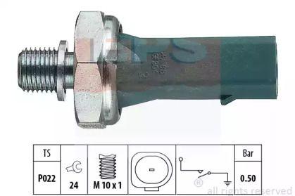 Датчик давления масла на Шкода Октавия А5 'EPS 1.800.139'.