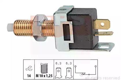Датчик стоп-сигналу на Мазда МХ5 'EPS 1.810.017'.