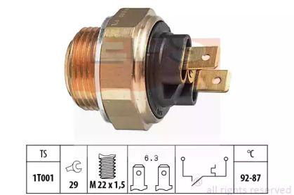 Датчик включення вентилятора EPS 1.850.000.