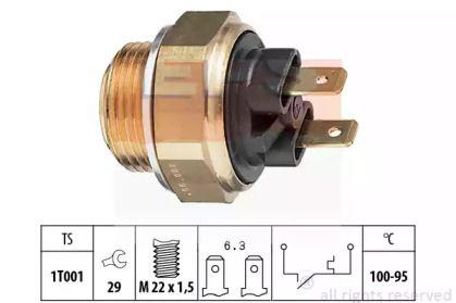 Датчик включення вентилятора EPS 1.850.019.
