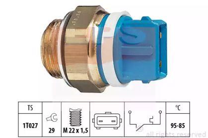 Датчик включення вентилятора EPS 1.850.122.