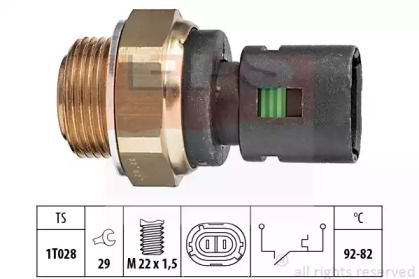 Датчик включення вентилятора EPS 1.850.128.