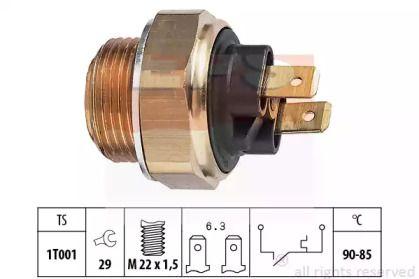 Датчик включення вентилятора EPS 1.850.134.