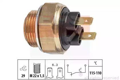 Датчик включення вентилятора EPS 1.850.135.