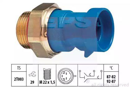 Датчик включения вентилятора на Фиат Палио 'EPS 1.850.642'.