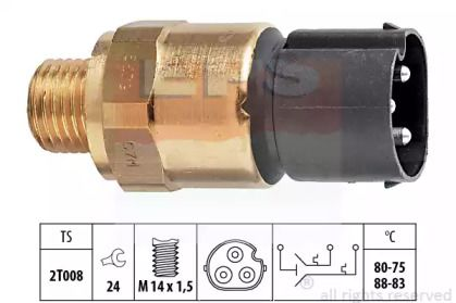 Датчик включення вентилятора EPS 1.850.679.