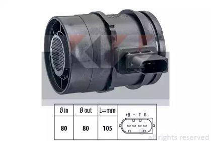 Регулятор потоку повітря KW 491 126.