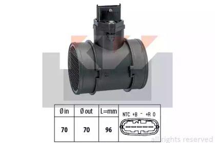 Регулятор потоку повітря KW 491 155.