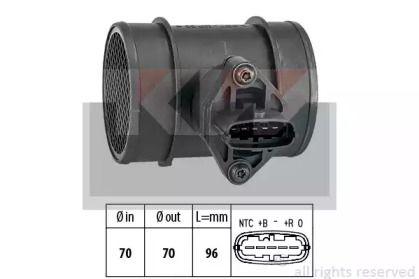 Регулятор потоку повітря KW 491 264.
