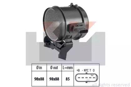 Регулятор потоку повітря KW 491 355.