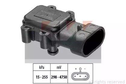 Датчик тиску наддуву KW 493 064.