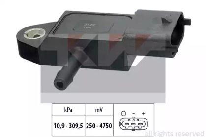Датчик тиску наддуву KW 493 144.