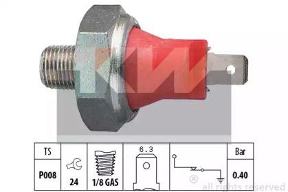 Датчик тиску масла на MAZDA DEMIO KW 500 017.