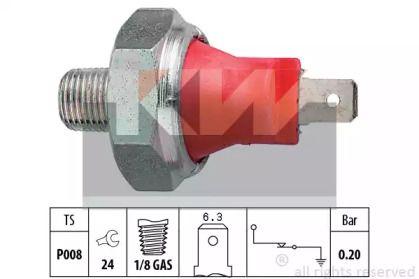 Датчик тиску масла на Мітсубісі Карізма 'KW 500 035'.