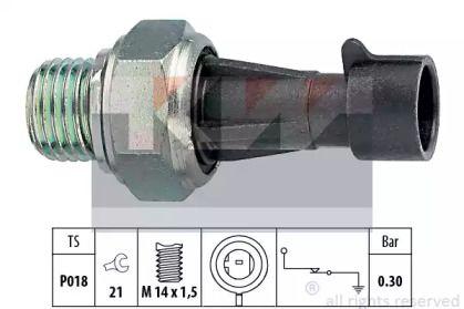 Датчик тиску масла KW 500 096.