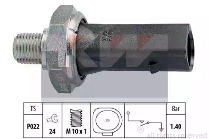 Датчик тиску масла KW 500 135.