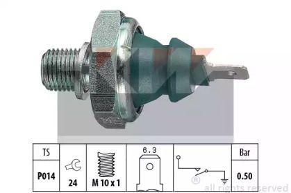 Датчик тиску масла KW 500 138.