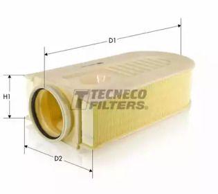 Повітряний фільтр на Мерседес ГЛЕ  TECNECO FILTERS AR35005.