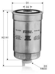 Паливний фільтр 'TECNECO FILTERS GS58'.
