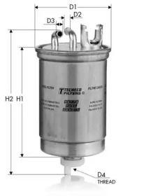 Топливный фильтр TECNECO FILTERS GS59.