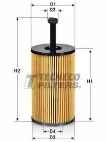 Масляный фильтр TECNECO FILTERS OL0114-E.