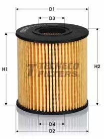Масляный фильтр 'TECNECO FILTERS OL0247-E'.