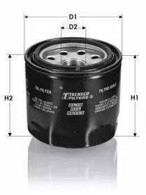 Масляный фильтр 'TECNECO FILTERS OL922-J'.