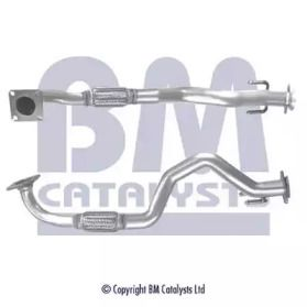 Приемная труба глушителя на SEAT LEON 'BM CATALYSTS BM70334'.