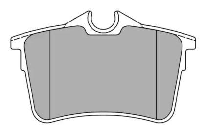 Тормозные колодки FREMAX FBP-1580.