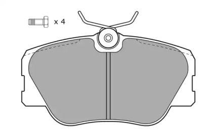 Гальмівні колодки 'FREMAX FBP-0495'.