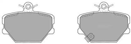 Гальмівні колодки 'FREMAX FBP-1133'.