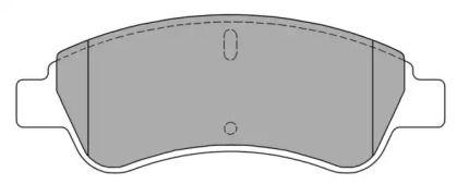 Тормозные колодки FREMAX FBP-1212.