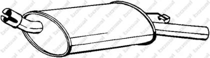Глушитель BOSAL 185-161.