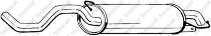 Глушитель на SEAT LEON 'BOSAL 279-399'.