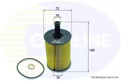 Масляный фильтр на Фольксваген Джетта 'COMLINE EOF087'.