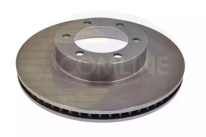 Вентилируемый передний тормозной диск на LEXUS GX 'COMLINE ADC01120V'.