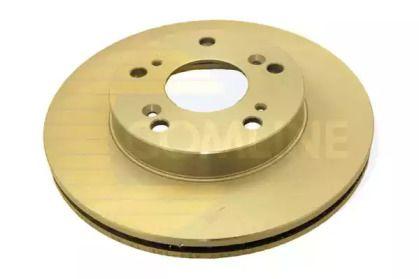 Вентилируемый передний тормозной диск на HONDA CR-Z 'COMLINE ADC0563V'.