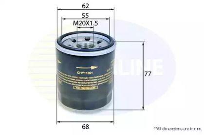 Масляний фільтр 'COMLINE CHY11001'.