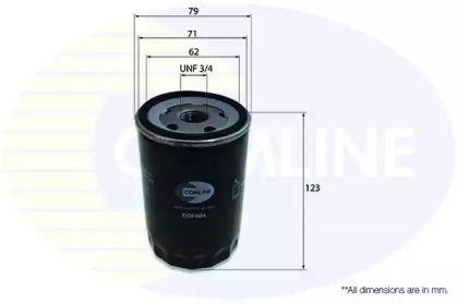 Масляний фільтр на MAZDA CX-9 COMLINE EOF004.