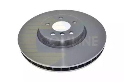 Вентильований передній гальмівний диск 'COMLINE ADC1754V'.