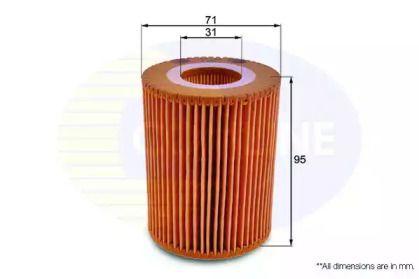 Масляний фільтр COMLINE EOF186.