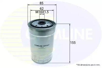 Паливний фільтр COMLINE EFF007.