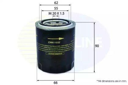 Масляний фільтр на MAZDA E-SERIE 'COMLINE CHN11532'.
